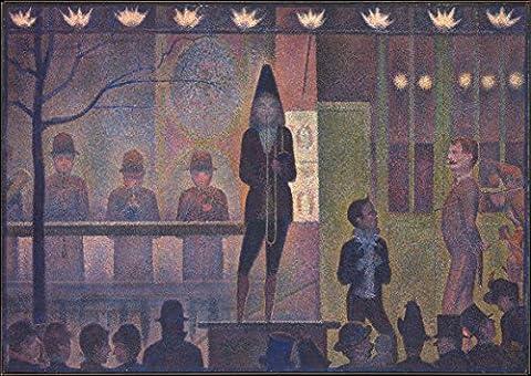 Georges Seurat: Circus Sideshow. Fine Art Print/Poster (42cm x 29.7cm)