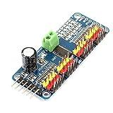 DealMux Xcsource PCA9685 16Channel 12bit PMW Servo Motor Driver IIC Interface-Modul für Arduino Roboter