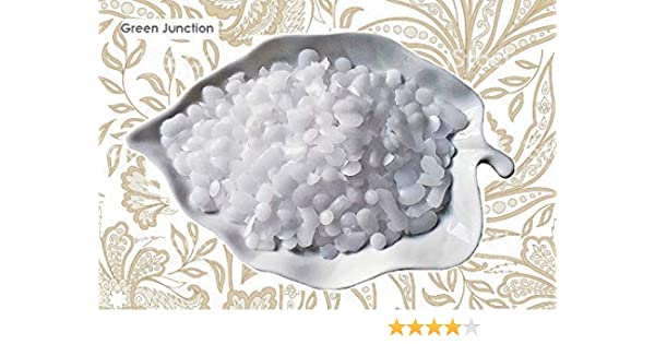 Green Junction Emulsifying Wax (NF) Pellets DIY (Do it Yourself Body) for  Lotion & Creams 400 Gm Pack