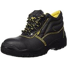 Wolfpack 15018035 - Botas seguridad piel, tamaño 43, color negro