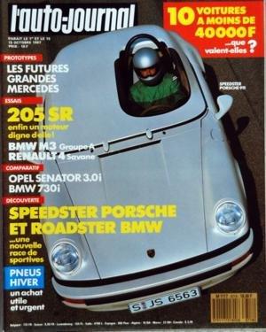 AUTO JOURNAL (L') N? 18 du 15-10-1987 SOMMAIRE - A J INFORMATIONS- J'AI CONDUIT LA FIAT 126 BIS - L'AUTO ET LE DROIT - J'AI CONDUIT LA VOLVO 760 - LA TRIBUNE DES LECTEURS - SUPERSTAR L'ALFA GIULIA TZ 1 - AUTO-SUGGESTIONS - TOURISME - L'ISLANDE EN 4X4 - LA ROUTE BUISSONNIERE - PORSCHE ET BMW - RETOUR AUX SOURCES - SUR LE GRIL - ESSAI MOTORHOME - LORD LIBERTY 6400 - LA COTE DES VOITURES D'OCCASION - LE PRIX DES VOITURES NEUVES - SPORT - LE GRAND PRIX D'ESPAGNE - YANNIK DALMAS - DE LA F3000 A LA...