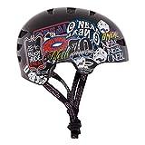 O'Neal Dirt Lid Fidlock ProFit Helm JUNKIE Schwarz Fahrrad MTB BMX Enduro Mountain Bike MTB FR DH, 0580J-1, Größe X-Large (59-60 cm)