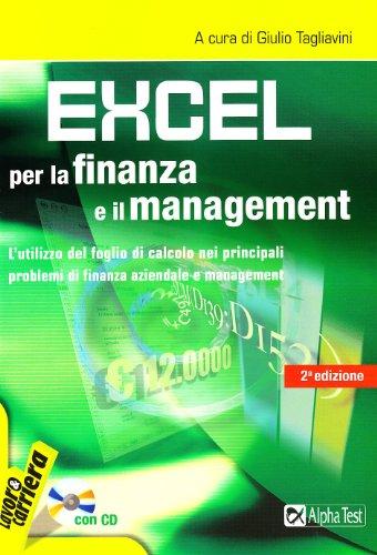 Excel per la finanza e il management