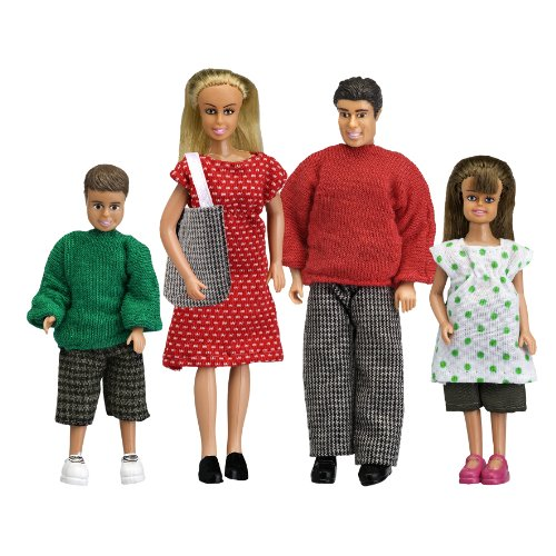 Lundby 60.8051.00 - Smaland: Puppenfamilie Classic