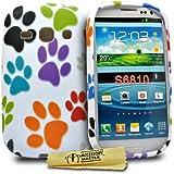 Accessory Master Coque en silicone pour Samsung Galaxy Fame S6810 Pattes de Chats
