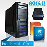 Ultimate XERCON Gamer PC Systeme komplett Intel i5-4460 4x3.1GHz Quad Core | 8GB DDR3-1600 | 500GB S-ATA Festplatte| Nvidia GeForce GTX-950, 2GB | Mainboard mit Intel Chipsatz| 500W Netzteil,silent | 5.1 Soundchip | 24x DVD-Brenner | Kaspersky Internet Security - 30 Tage Testversion | Microsoft Office 2010 Starter (Word, Excel) | Windows 7 Professional (OEM) 64Bit [98311_W7]