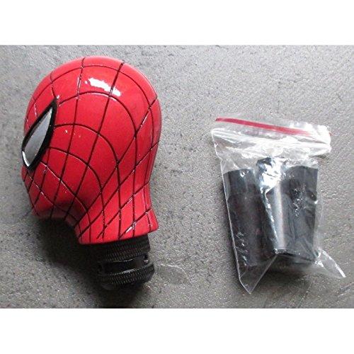 hotrodspirit–Palanca de velocidad Spiderman rojo alcachofa Auto universal