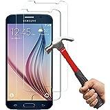 Samsung Galaxy S6 Protection écran Kapoo 3D Touch Compatible-Verre trempé Samsung Galaxy S6écran de protection en verre Travailler avec Samsung Galaxy S6 la plupart des cas de protection[Lot de 2]