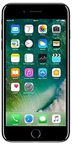 Apple iPhone 7 plus Smartphone (14 cm (5,5 Zoll), 128GB interner Speicher, iOS 10) jet schwarz
