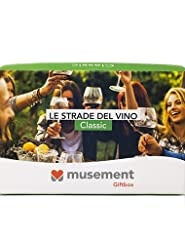 Idea Regalo - Musement Giftbox - LE STRADE DEL VINO (Classic) - Cofanetto regalo