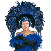 Tocado de plumas carnaval Samba brasil río traje bailarina accesorios espectáculos cabeza