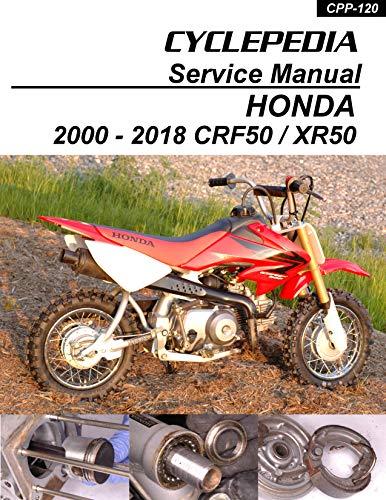 2000-2010 Honda CRF50 and XR50 Service Manual (English Edition)