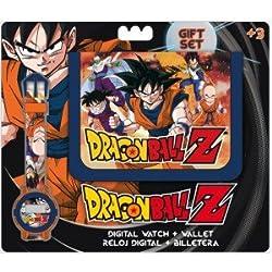 Kids Euroswan - Dragon Ball DB16272 Gift Set Dragon Ball wallet + digital watch