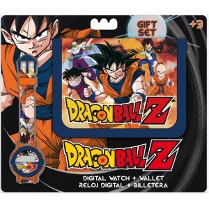 Set billetera + reloj Dragon Ball Z
