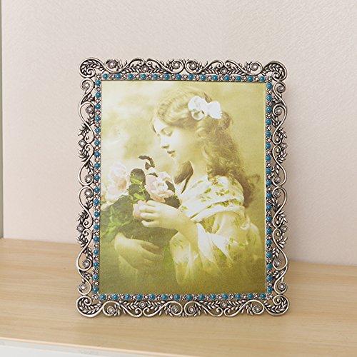 SQZH europeo classico retrò creatività romantica elegante telaio in metallo 19.5cm*25cm ,19.5cm*25cm