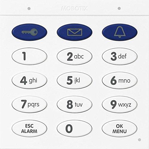 Mobotix MX-Keypad1-EXT-SV Türstationmodul Keypad Videoüberwachungssystem schwarz/weiß