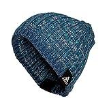 adidas Damen Mütze Beanie, Farbe:blau, Größe:M