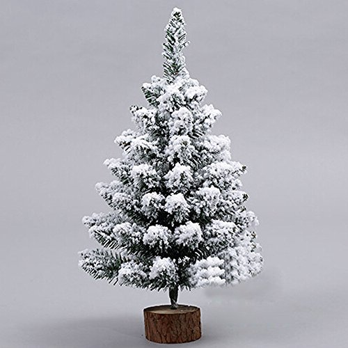 Albero Di Natale 50 Cm.Albero Di Natale Innevato 50 Cm Artificiale Con Luci Decorazione Da Interno