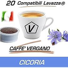 """Capsule Compatibili Lavazza Espresso Point®, Capsule Caffè Vergano Miscela """"Radice di Cicoria"""" Linea Espresso (20 Capsule)"""