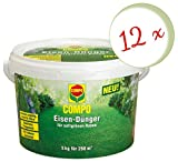 Oleanderhof® Sparset: 12 x COMPO Eisendünger, 5 kg + gratis Oleanderhof Flyer