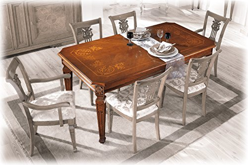 Artigiani Veneti Riuniti Extendable trestle dining table 180-360 cm