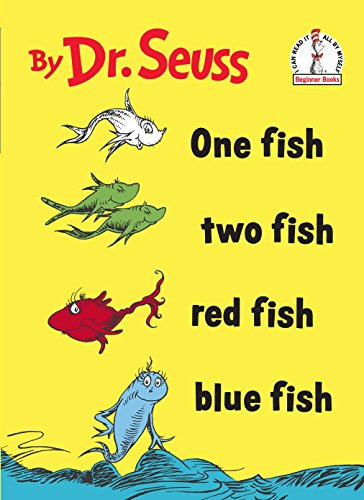 One Fish Two Fish Red Fish Blue Fish (Beginner Books(R)) (Seuss Worte Dr)