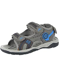 Kids Unisex 57700 Infant Boys Girls Faux Leather Adjustable Touch Close  Straps Open Toe Gladiator Summer Sandals… 6c308abf6