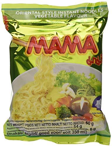 Mama Instantnudeln, Vegetarisch, 30er Pack (30 x 60 g)