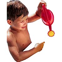 CreativeMinds UK Childs Kids Aqua Water Swimming Pool Play Toy Plastic Watering Can 1 Litre Red
