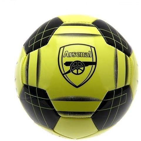 Arsenal F.C.-Pallone da calcio fluorescente F C, e carte, in