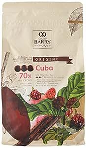 CACAO BARRY 70% Min Cacao Chocolat Cuba Pistoles 1 kg