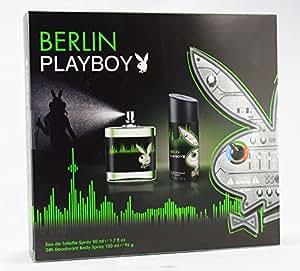 Playboy Berlin Herren Geschenkset EDT+ Deospray