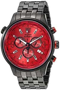 DETOMASO AURINO Chronograph Black/Red DT1061-B