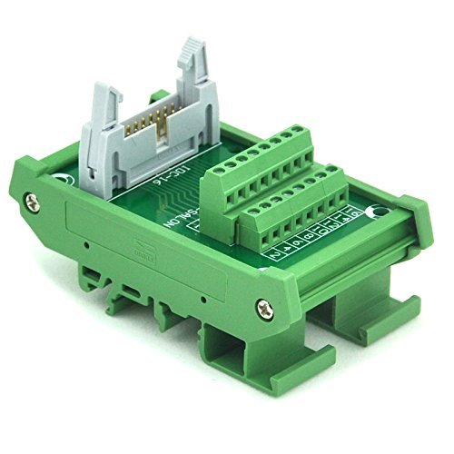 Breakout-modul (Electronics-Salon idc-16 DIN Schiene montiert Schnittstelle Modul, Breakout Board, TERMINAL BLOCK.)