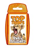 Klassische Top Trumps Kinder Kids Travel Ferienspielkarten BABY ANIMALS TT ENGLISH
