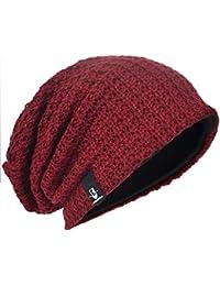 Men Oversize Beanie Slouch Skull Knit Large Baggy Cap Ski Hat B08 25e50601bb9c