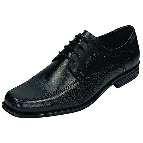 FRETZ mEN-nevada-chaussures pour homme noir chaussures en matelas grande taille Noir - schwarz Weite Weit