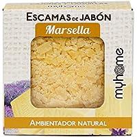 My Home Ambientador Escamas Jabón Marsella - 4 Paquetes de 3 x 25 gr - Total: 300 gr