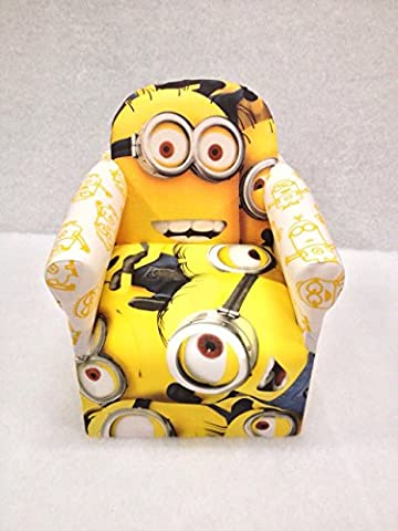 Childrens Disney Sofa Chairs Bedroom Playroom Chairs For Kids-Over 20 Characters:Minions by Inspire