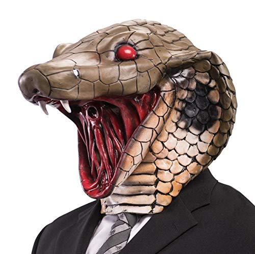 Maske Cobra Lattice Karneval Erwachsene Tierverkleidung Schlange Theater