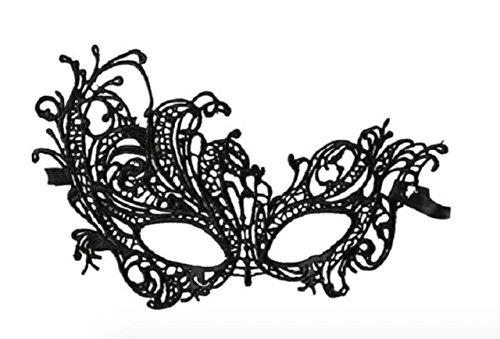 Accessoire-coquin-dguisement-masque-loup-en-dentelle-noire-forme-arabesque