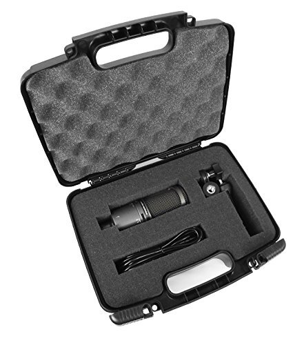 TOUGH Cardioid Condenser Microphone Hard Case with Dense Foam for Audio-Technica AT2020 / AT2020USB / ATR2500-USB / AT2035 Studio and USB Microphones - Fits Device and Accessories  available at amazon for Rs.3497