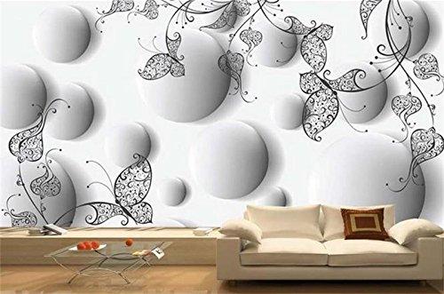 Weaeo 3D Room Fototapete Benutzerdefinierte Mural Vlies Wandaufkleber Linie Stereo Sofa Tv Hintergrund Malerei 3D Wandbilder Wallpaper-200X140Cm (Moderne Linien, Moderne Sofa)