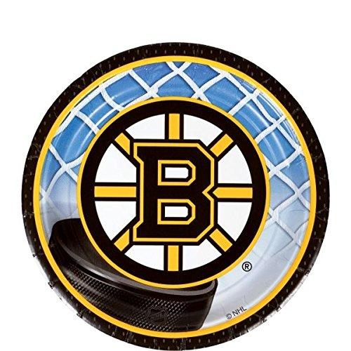 Boston Bruins Collection Partyteller, rund, 17,8 cm - Boston Amis