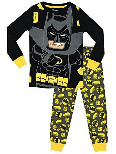 Lego Batman Jungen Batman Schlafanzug - Slim Fit - 116 (Batman-schlafanzug Jungen Für)