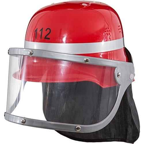 Kinderfeuerwehrhelm rot Feuerwehrmann Kinderhelm Feuerwehr Helm Karnevalskostüme Accessoires Fasching Kinderschutzhelm 112 Schutzhelm Karneval (Feuerwehrmann-hüte Für Erwachsene)