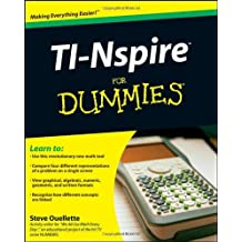 TI-Nspire For Dummies by Steve Ouellette (2009-01-26)