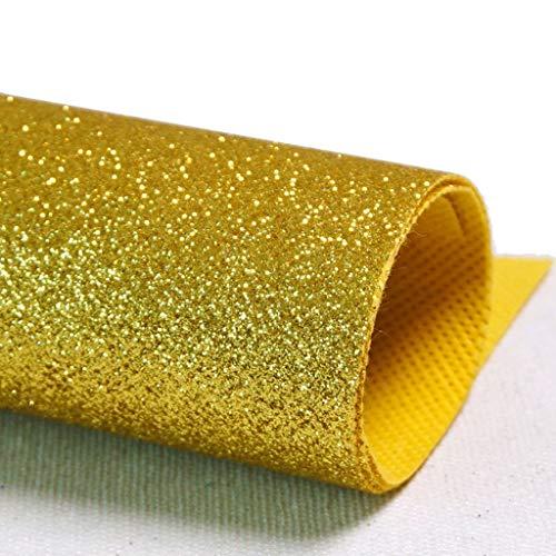 L&Y Teppich- Gang Runner Shimmer Pailletten Stoff Hochzeit Bodenläufer, Glitter Carpert Runner Non-Slip Mat (Farbe : Gold)