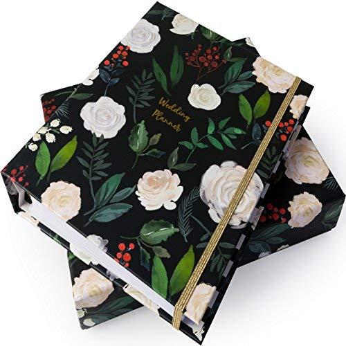 Luxus-Hochzeitsplaner (A5), englische Version | Hochwertig | Geschenkbox | ideales Verlobungsgeschenk | Perfektes Andenken