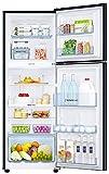 Samsung 253 L 3 Star Inverter Frost-Free Double-Door Refrigerator (RT28N3923U8/HL, Saffron Blue)